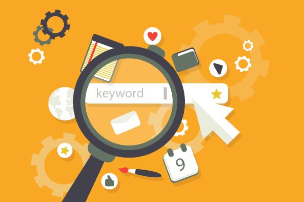 Keyword magnifying glass